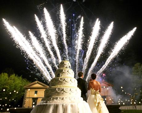 Matrimoni a Roma fuochi d'artificio